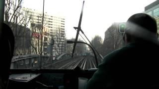 Paris-Metro 2 (Cabin view) Stalingrad-Jaures-Colonel Fabien