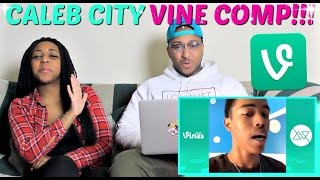 Ultimate Caleb City Vine Compilation 2016 REACTION!!!