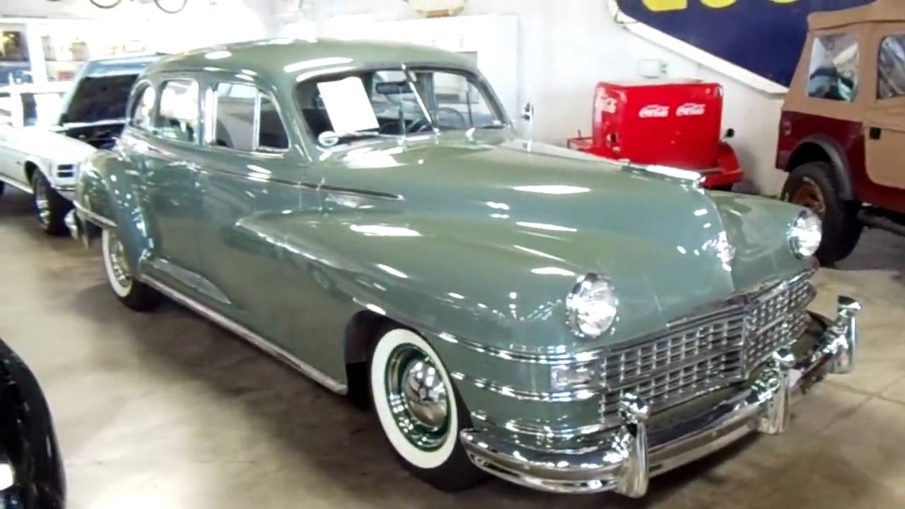 1949 Chrysler Windsor 4 Dr Sedan Nicely Restored Classic