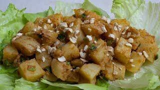 Veganer Geräucherter Kartoffelsalat