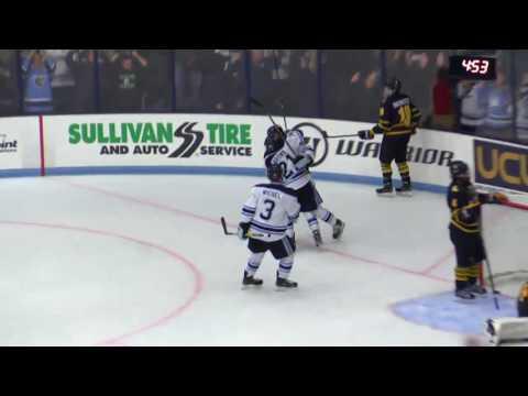 Highlights: Maine Hockey Defeats No. 3 Quinnipiac, 4-3 in OT