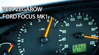 Menu Serwisowe zegarów Ford Focus MK1 (test mode, ukryte menu, tryb serwisowy)(, 2011-01-09T18:02:12.000Z)