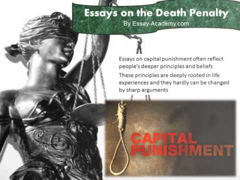 Essays on the Death Penalty