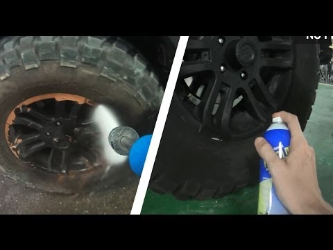Plasti Dip Rims Wheels - How to, Durability test