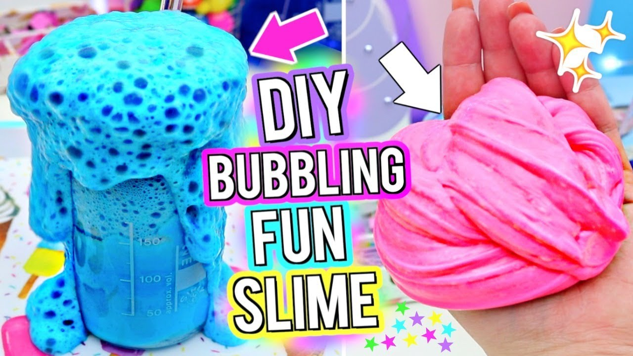 Diy bubbly slime school slime science experiment how to make the school slime science experiment how to make the most fun bubbling slime ever gillian bower ccuart Image collections
