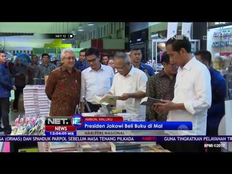 Blusukan Presiden Joko Widodo ke Mall di Maluku - NET12