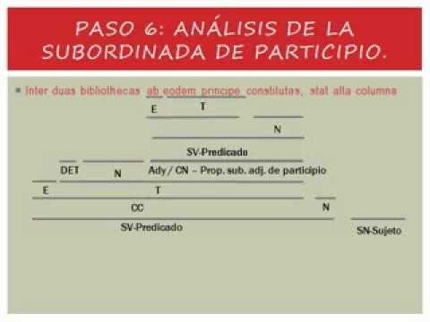Participios Concertados En Latín