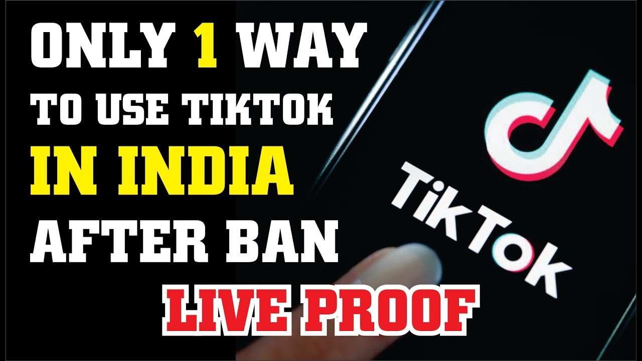 How To Use Tiktok After Ban In India Depend On U Youtube Being Used Tech Company Logos Banned