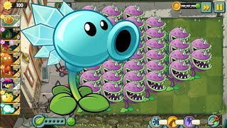 Plants vs Zombies Epic | Army Chomper and Snow Pea Max LVL Pvz2