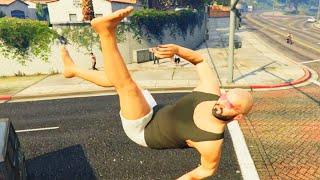 GTA V Unbelievable Crashes/Falls - Episode 77