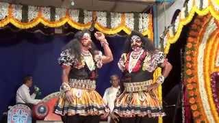 Yakshagana -- Shri Devi Mahatme - 30 - thindu thegutha