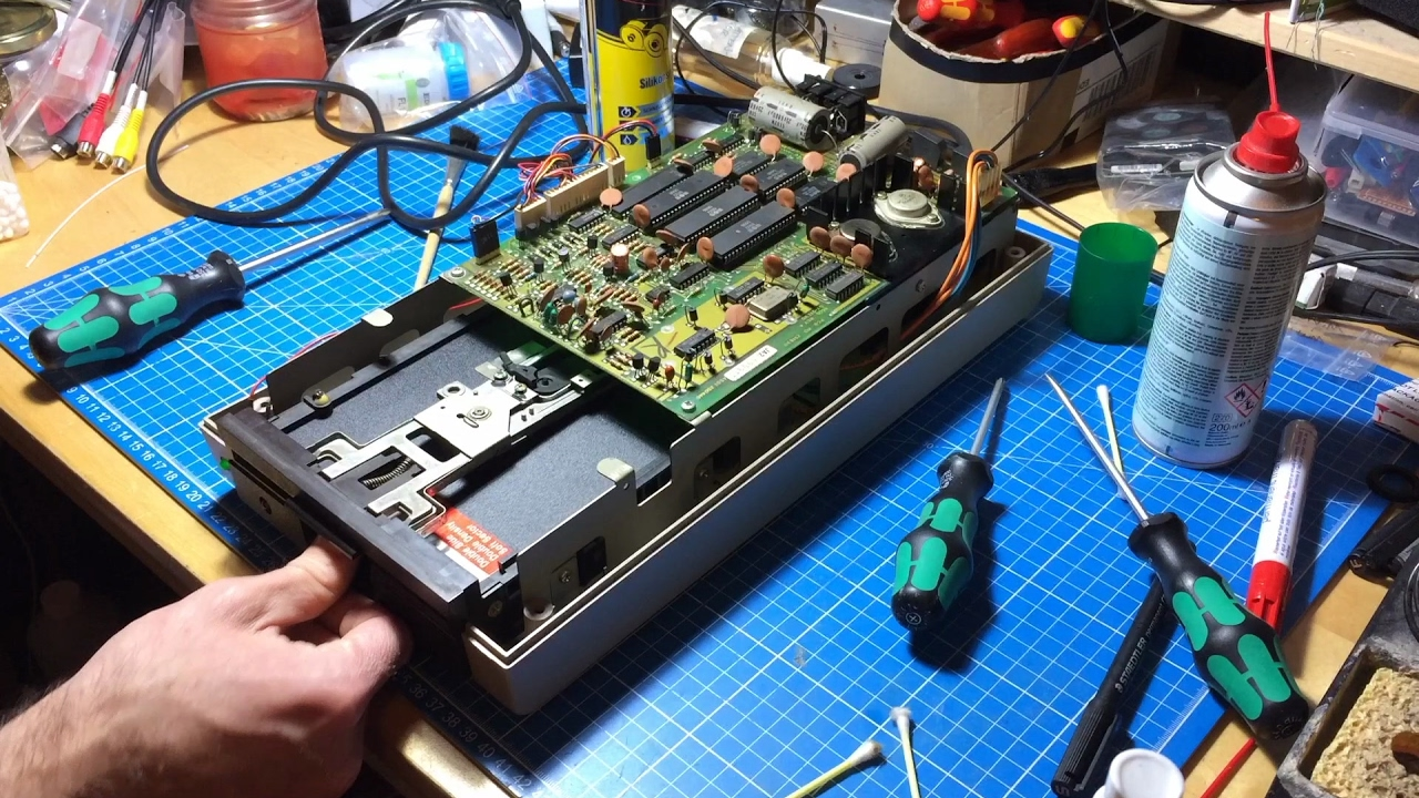 how to repair disk drive
