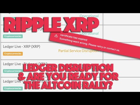 Ripple XRP: LEDGER DISRUPTION - What You Need To Know & Is An Altcoin Rally Official Upon Us? 16