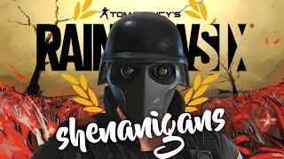 Rainbow Six Siege - Shenanigans! (Funny Moments, Crazy Rounds & Epic Stuff)