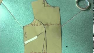 Cách vẽ đầm xòe 7 mảnh