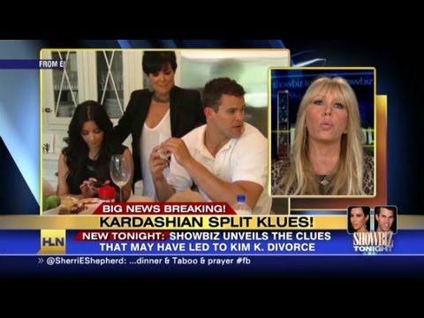 Clues to the Kardashian split?