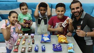 بائع الحلويات يبيع الشيبسي والشيكولاتة لمرام ومالك ومازن شوف عملو اي 😂