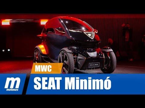 SEAT Minimó | Micromovilidad | Mobile World Congress
