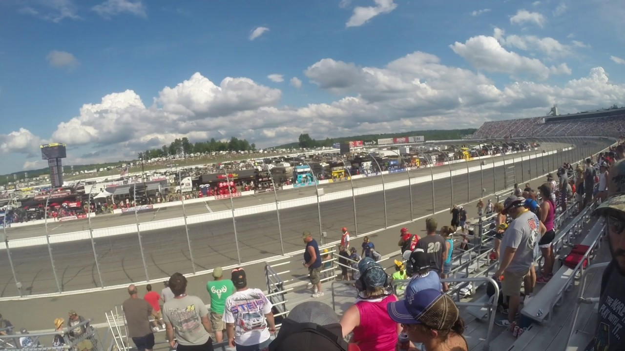 2016 Nascar Sprint Cup Series New Hampshire 301 New Hampshire Motor Speedway Gopro Head Cam