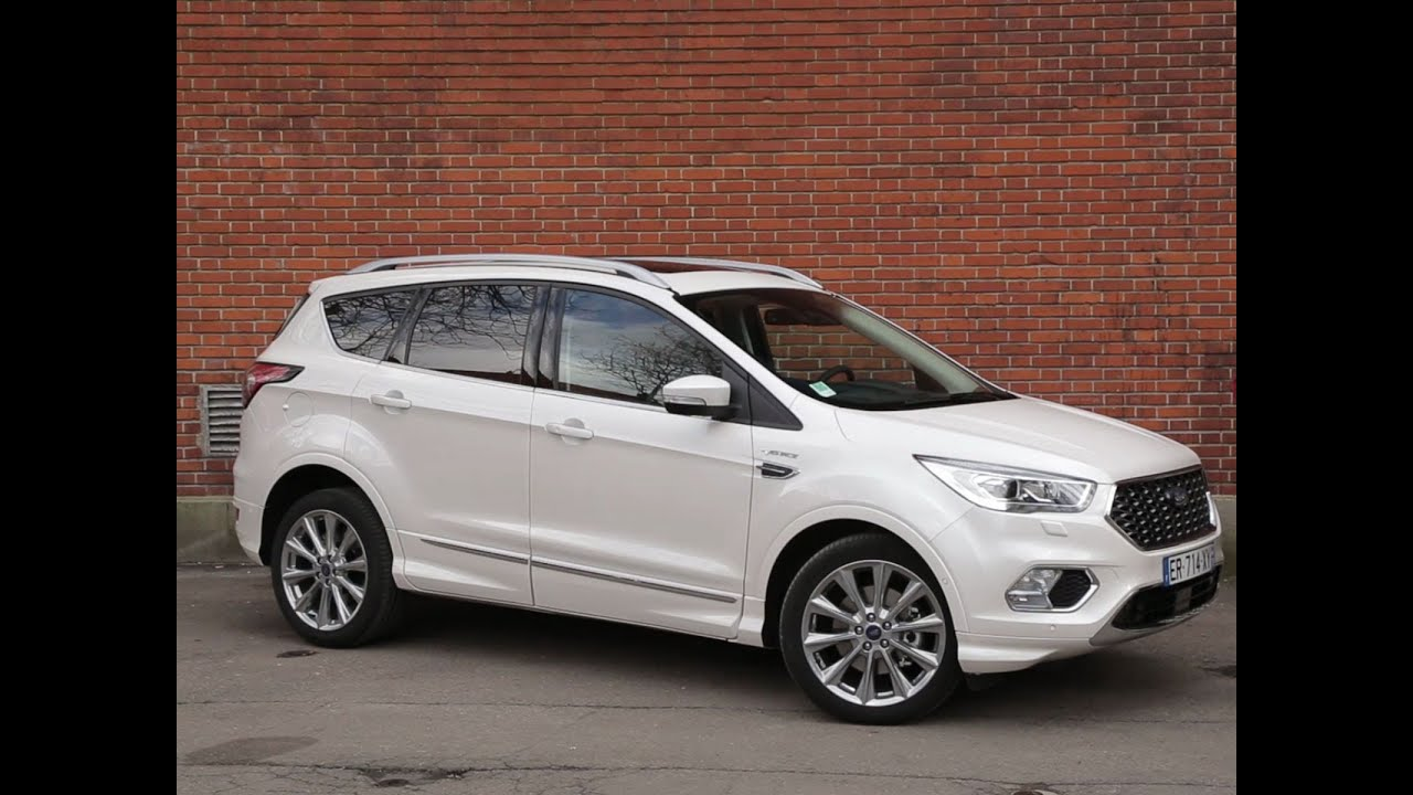 essai ford kuga vignale 1 5 tdci 120 powershift 2018 youtube. Black Bedroom Furniture Sets. Home Design Ideas