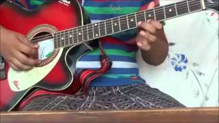 Jana Gana mana (Indian national Song) on guitar HD
