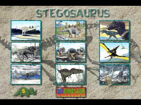 Name-A-Saurus from 3-D Dinosaur Adventure MS-DOS/Packard Bell Version