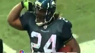 Marshawn Lynch 67 yard BEAST playoff run www keepvid com