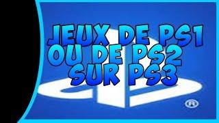 COMMENT JOUER A UN JEU DE PS1 OU DE PS2 SUR SA PS3 - BUNKERS