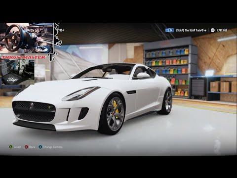 Forza Horizon 2 - 2015 Jaguar F-Type R - Testing Stock & 900Hp Build w/Wheel&Pedal Cam