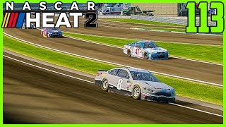 COLOR SWITCH AROUND FOR INDY! - NASCAR Heat 2 Career Mode  20/36  S4. Episode 113