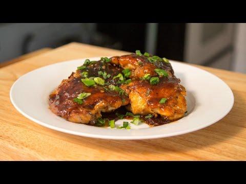 Crispy Chicken Thighs With Plum Sauce | Lazarus Lynch