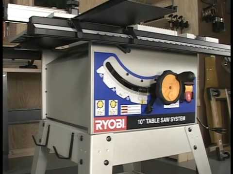 Ryobi bt3100 table saw part two youtube greentooth Images