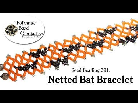 Make a Netted Bat Bracelet