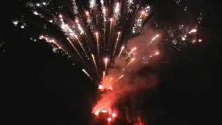 Sestola brucia la Rocca 3 gennaio 2010