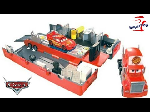 Disney Cars: Mack Truck Car Wash Playset and McQueen