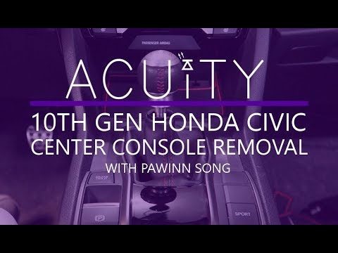 Center Console Removal Guide For The 10th Gen Honda Civic by ACUITY Instruments