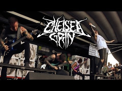 Chelsea Grin - Recreant Live Vans Warped Tour 2014 Houston