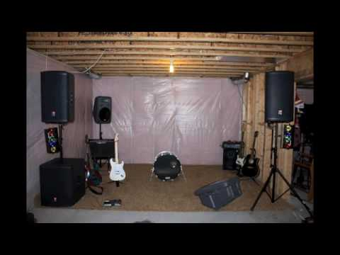 "Transforming my basement into the ""Band Room"""