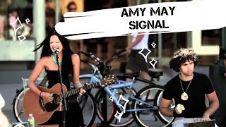 Amy May - Signal - Acoustic Live / Mystic / Santa Monica California / Калифорния / жизнь в США влог