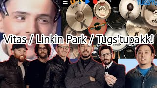 Numb - Linkin Park Ft. Vitas (Mashup/Cover) Real Drum Cover