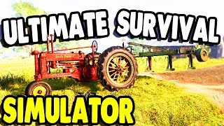 Most REALISTIC Farming & Building SIMULATOR EVER | Farmer