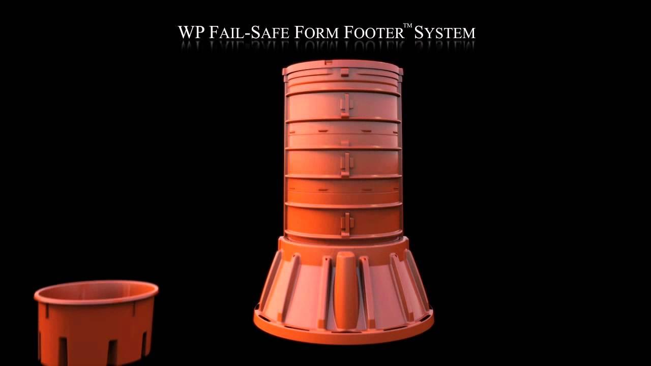 WP Fail Safe Form Footer Animation - YouTube