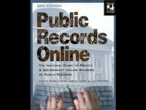 Public Records   Now Online