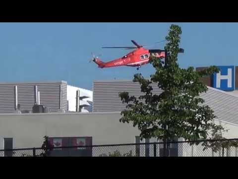 ORNGE Air Ambulance Ajax Ontario