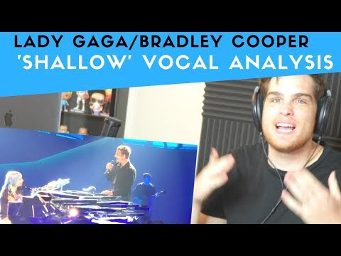 Vocal Analysis of Shallow - Lady Gaga and Bradley Cooper | Voice Teacher Reacts
