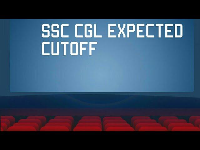 ssc cgl  cutoff 2017
