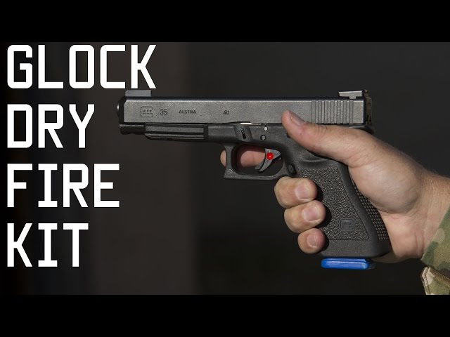 How to install and use GLOCK Kit | Reasons for Dry Fire Training |  Tactical Rifleman