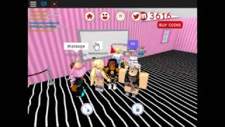 HAVING ANOTHER PARTY IN ROBLOX!