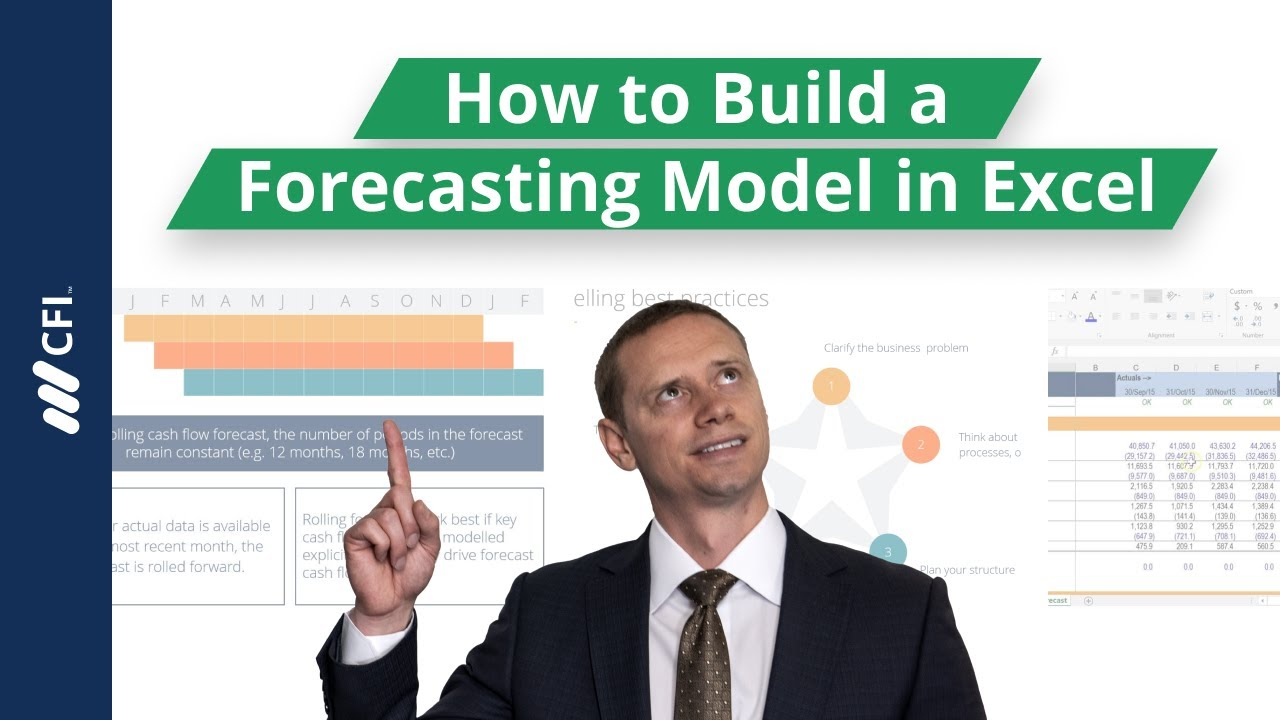 How to Build a Forecasting Model in Excel - Tutorial - YouTube