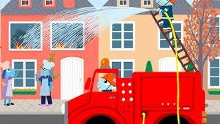 Au feu les pompiers - Chansons et comptines avec Pinpin et Lili